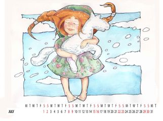 july child childhood kids childrenillustration