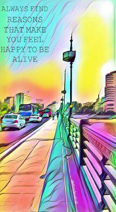 magiceffect bridge cars streetphotography colorful