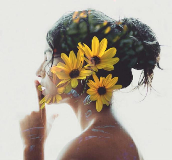 #FreeToEdit #flower #doubleexposure