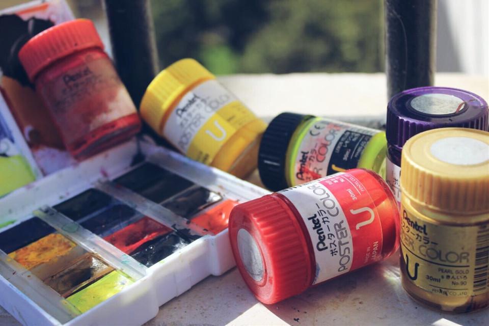 #art #colors #pentel #sun h