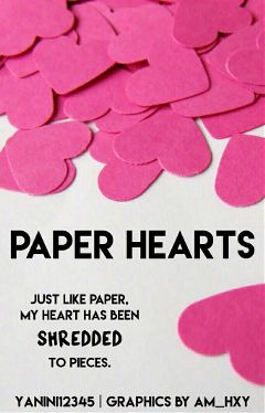 madebyme phonto hearts heart paper