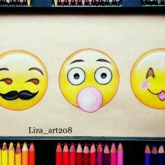 emotions colorful pencil_art freetocomment