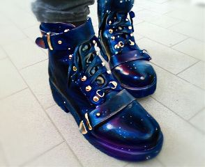 magic edited boots goth freetoedit