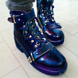 magic edited boots goth freetoedit